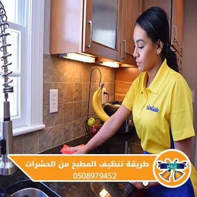 طريقة تنظيف المطبخ من الحشرات
