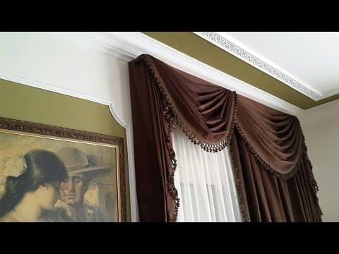 صورة تنظيف الستائر بالمنزل مثل الدراي كلين